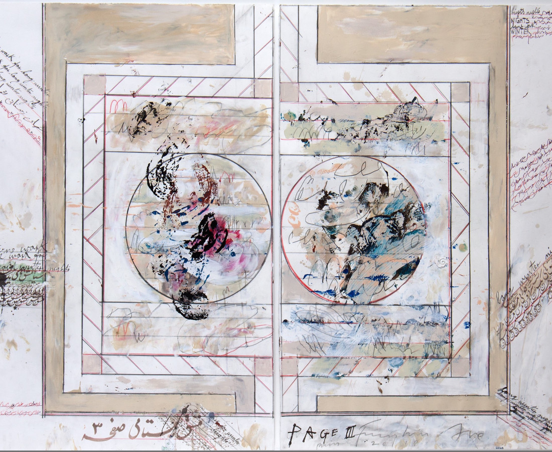 <span class=&#34;artist&#34;><strong>Fereydoun Ave</strong></span>, <span class=&#34;title&#34;>Untitled, 2018</span>
