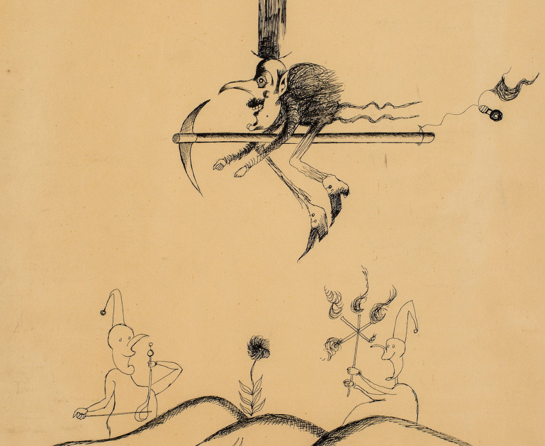 Ardeshir Mohassess, Untitled, 1968/1969