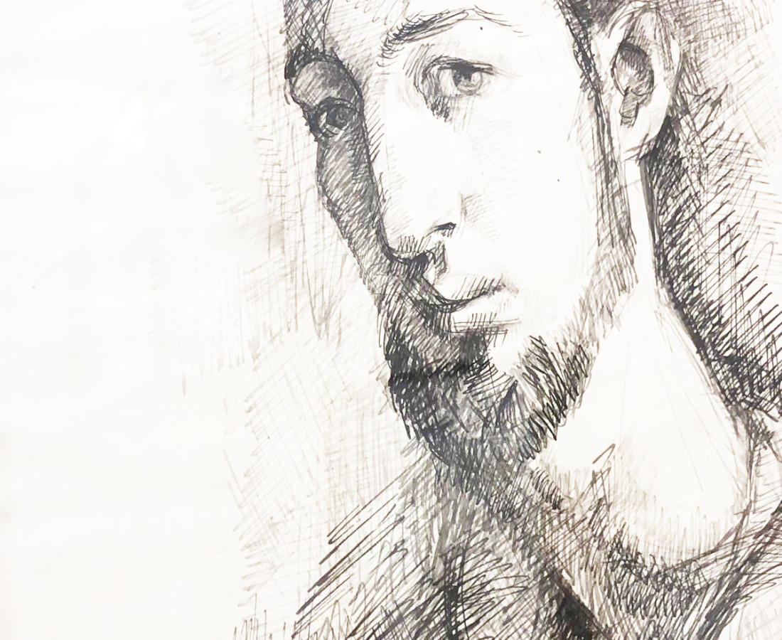 Bijan Saffari, Self Portrait
