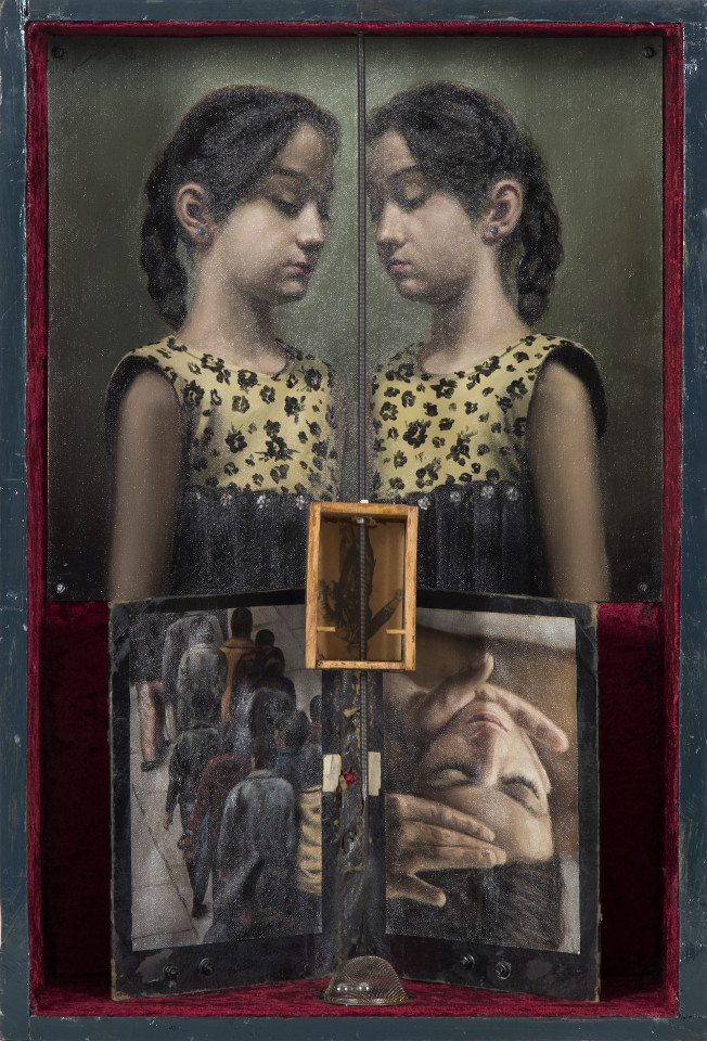 Nasser Bakhshi, False Reflection (Baztab-e Kazeb), 2015