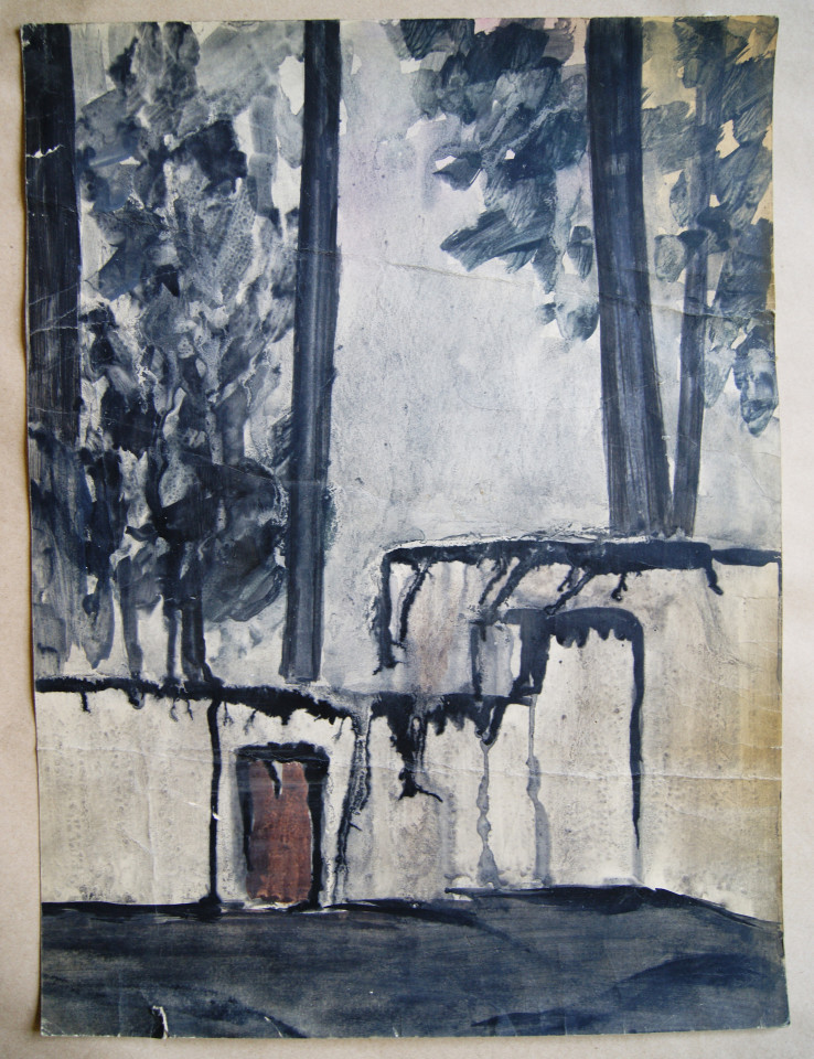 Sohrab Sepehri, Untitled, 1960