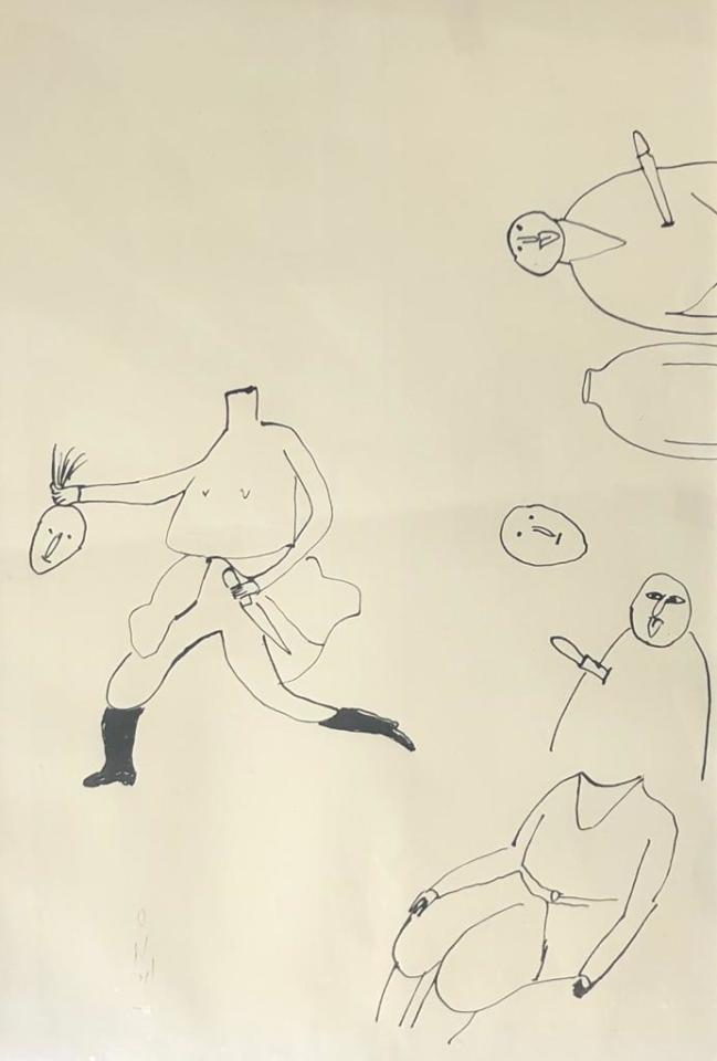 Ardeshir Mohassess, Untitled
