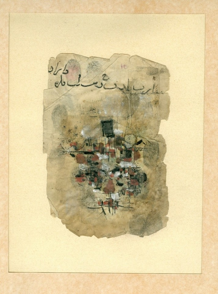 Sadeq Tabrizi, Untitled, 1960