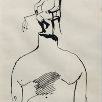 "<span class=""link fancybox-details-link""><a href=""/exhibitions/302/works/artworks10241/"">View Detail Page</a></span><div class=""artist""><strong>Ardeshir Mohassess</strong></div><div class=""title""><em>Untitiled</em></div><div class=""medium"">Ink on Paper</div><div class=""dimensions"">35 x 22 cm<br>13 3/4 x 8 5/8 in</div>"
