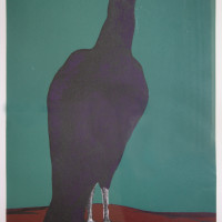 "<span class=""link fancybox-details-link""><a href=""/exhibitions/333/works/artworks14873/"">View Detail Page</a></span><div class=""artist""><strong>Bahman Mohassess</strong></div><div class=""title""><em>Eagle</em>, 1971</div><div class=""medium"">Lithograph Print on Paper</div><div class=""dimensions"">70 x 48.5 cm<br>27 1/2 x 19 1/8 in</div><div class=""edition_details"">Edition 2/30</div>"