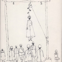 "<span class=""link fancybox-details-link""><a href=""/exhibitions/302/works/artworks9879/"">View Detail Page</a></span><div class=""artist""><strong>Ardeshir Mohassess</strong></div><div class=""title""><em>Untitled</em></div><div class=""medium"">Pen on Paper</div><div class=""dimensions"">32.6 x 20.8 cm<br>12 7/8 x 8 1/4 in</div>"