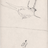 "<span class=""link fancybox-details-link""><a href=""/exhibitions/302/works/artworks9876/"">View Detail Page</a></span><div class=""artist""><strong>Ardeshir Mohassess</strong></div>1972/1973<div class=""medium"">Pen on Paper</div><div class=""dimensions"">28.7 x 17.6 cm<br>11 1/4 x 6 7/8 in</div>"