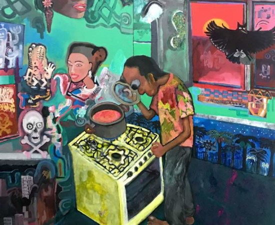 <span class=&#34;artist&#34;><strong>Sadra Baniasadi</strong></span>, <span class=&#34;title&#34;><em>The Kitchen</em>, 2017</span>