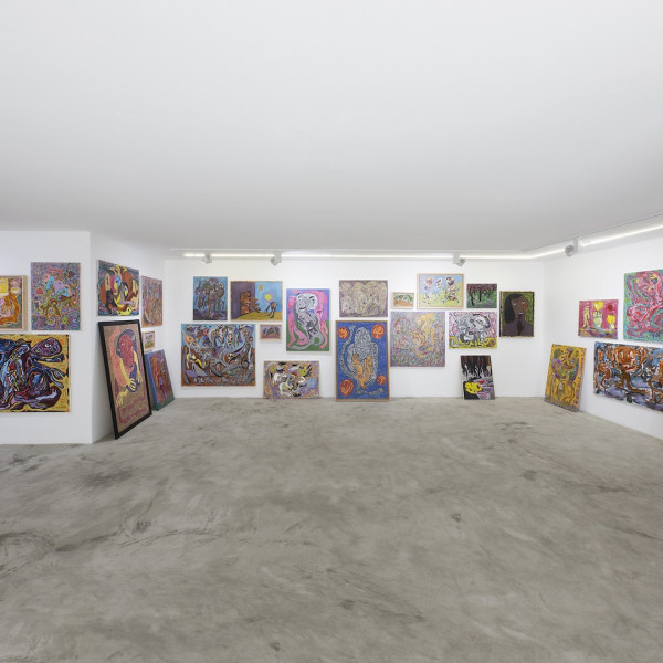 "Ali Razghandi | ""Painting Exhibition"" Dastan's Basement"