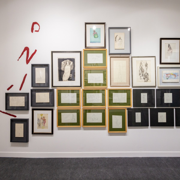 Dastan's Booth at Fiac 2019