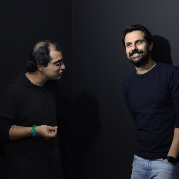 """HORMOZ HEMATIAN & ASHKAN ZAHRAEI, Electric Room, art under high tension"""