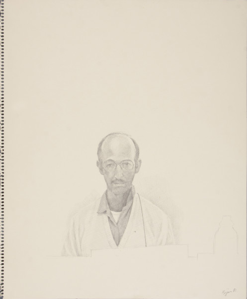 Bijan Saffari, Self-Portrait, 1991