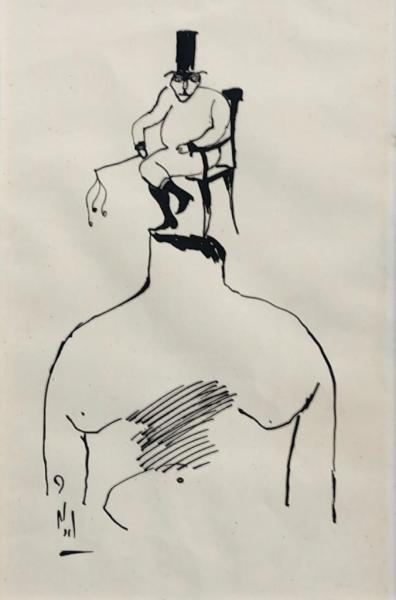 Ardeshir Mohassess, Untitiled