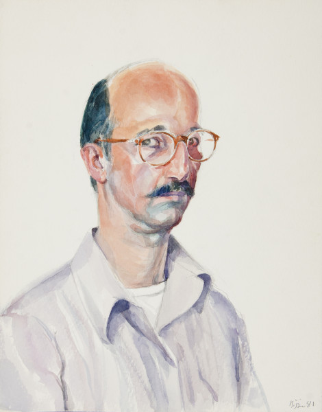 Bijan Saffari, Self-Portrait, 1981