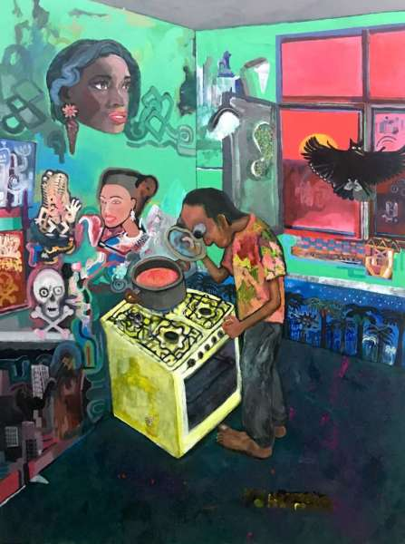 Sadra Baniasadi, The Kitchen, 2017