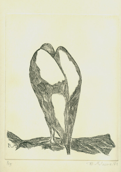 Bahman Mohassess, Eagle, 1971