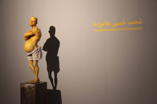 1397 2019 Mohammad Hossein Gholamzadeh The Fall Emrooz Gallery Installation View Highres 04 Img 9065