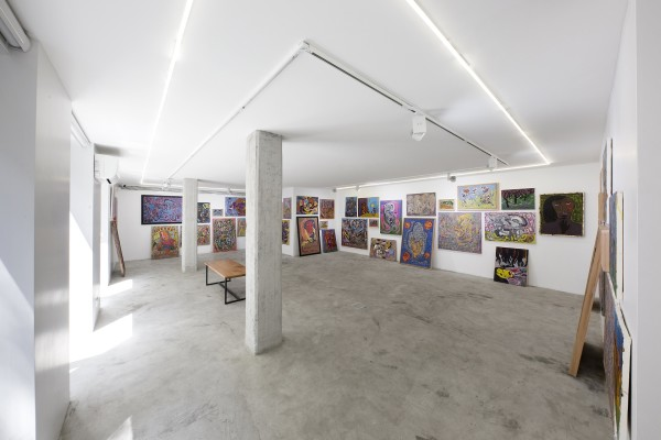 1398 2019 Ali Razghandi Painting Exhibition Dastan S Basement Installation View Lowres 01 503A1250