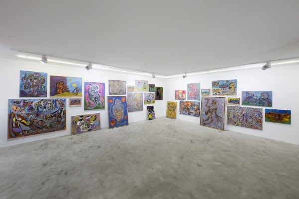 1398 2019 Ali Razghandi Painting Exhibition Dastan S Basement Installation View Lowres 03 503A1254