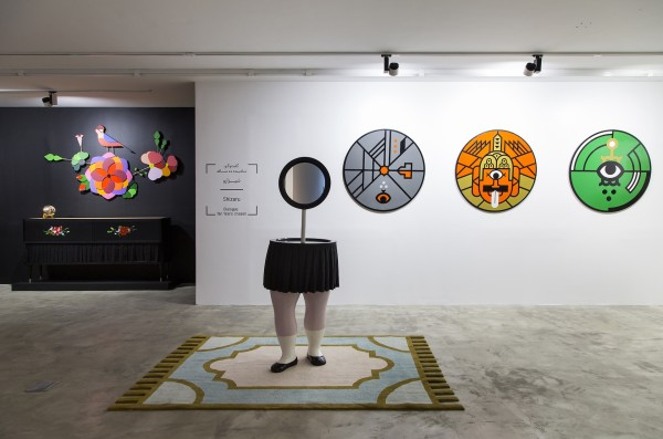1398 2019 Studio Shizaru Dialogue Ten Years Unseen Dastan 2 Installation View Lowres 08 503A5960