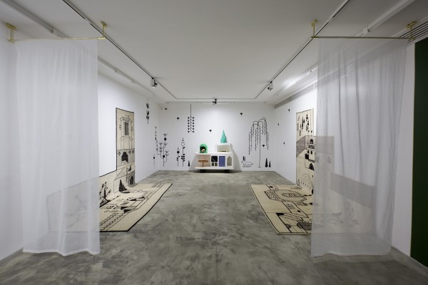 1398 2019 Studio Shizaru Dialogue Ten Years Unseen Dastan 2 Installation View Lowres 25 503A5925