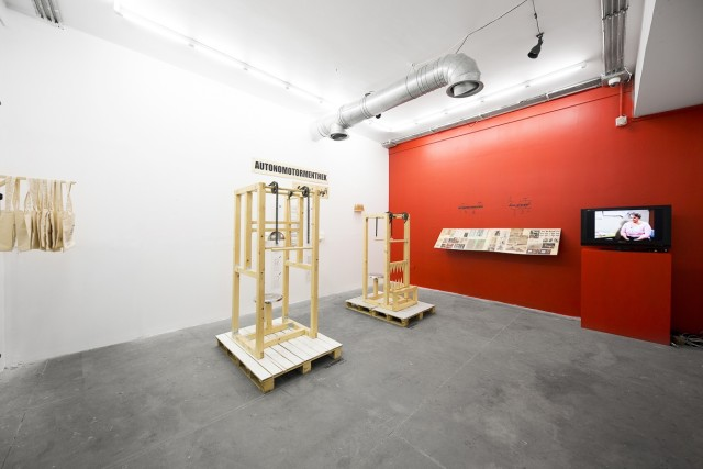 Elnaz Salehi | 'AUTONOMOTORMENTHEK', Electric Room 30/50