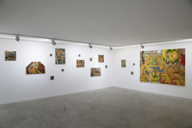 Installation view. Photo by: Matin Jameie