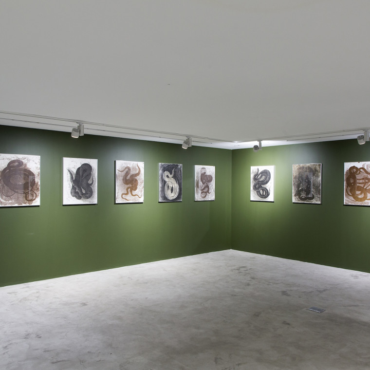 "Mehrdad Pournazarali | ""Palimpsest; Some Untitled Drawings"" Dastan's Basement"