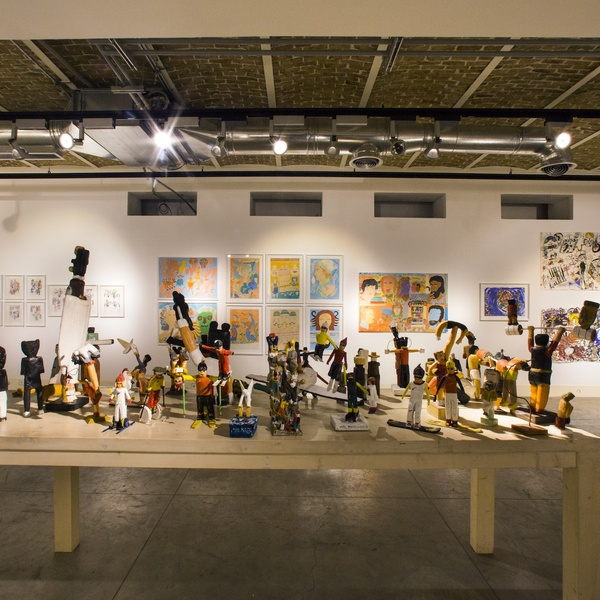 The 4th Annual Outsider Art Exhibition Dastan:Outside | V-Gallery