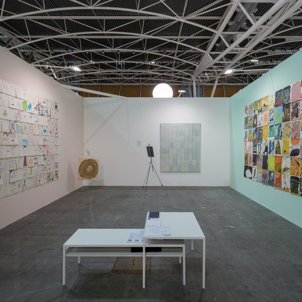 Dastan's Basement Booth at Artissima 2018