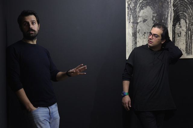 Hormoz Hematian and Ashkan Zahraei Photo by Roxana Fazeli